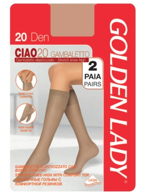 Фото Golden Lady Ciao 20 gambaletto 2 пары