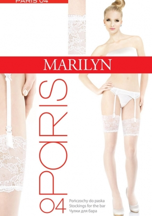 Фото Marilyn Paris 04 чулки под пояс