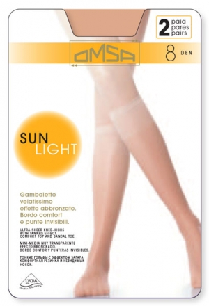 Фото Omsa Sun light 8 gambaletto