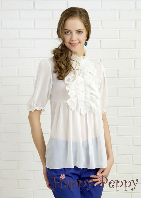 Польские Блузки Белые Купить