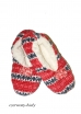 Фото Risocks baletki pom-pom scandy 01 теплые тапочки